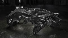 BMW ha dotato la HP4 Race di un telaio principale realizzato interamente in carbonio