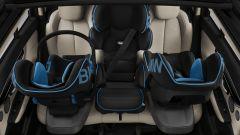 Bmw: i seggiolini sono tutti dotati della tecnologia Airpad per la protezione di testa e collo