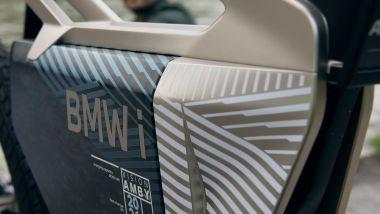 BMW i Vision Amby: la batteria da 2.000 Wh è al centro del telaio