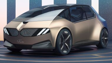 BMW i Vision Circular, vista 3/4 anteriore