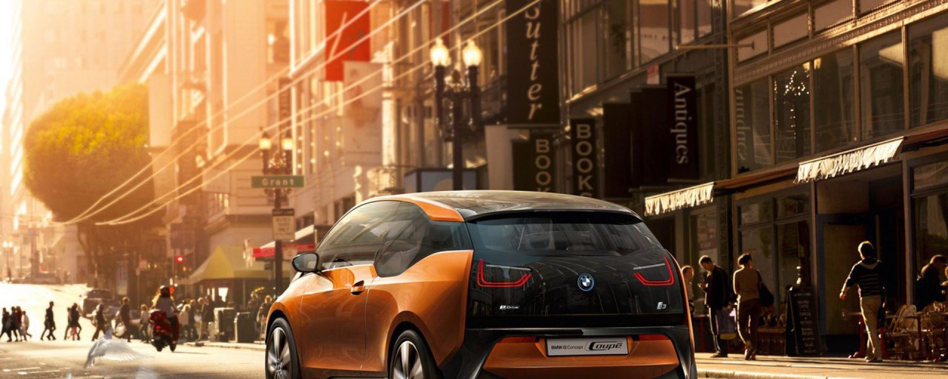 BMW i3 Coupe Concept EV
