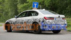 BMW i3: visuale di 3/4 posteriore
