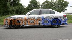 BMW i3: visuale laterale