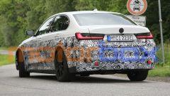 BMW i3: visuale posteriore