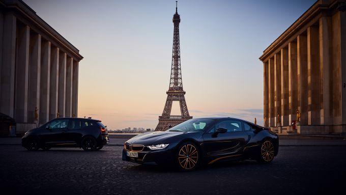 BMW I3S e BMW I8 Sophisto: edizioni limitate