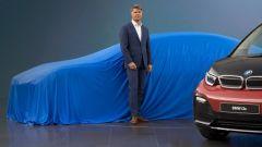 BMW i5, a Francoforte cadono i veli