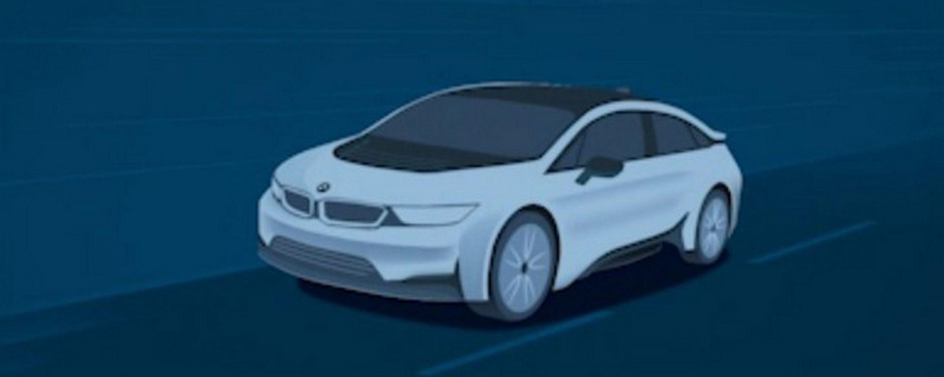 BMW i5, il teaser
