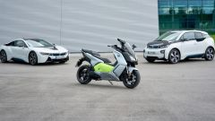BMW i8, i3 e C evolution protagonisti Hundred to go