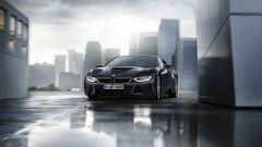 BMW i8 Protonic Dark Silver Edition, visuale frontale