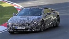BMW i8 Roadster: il muletto al Nurburgring