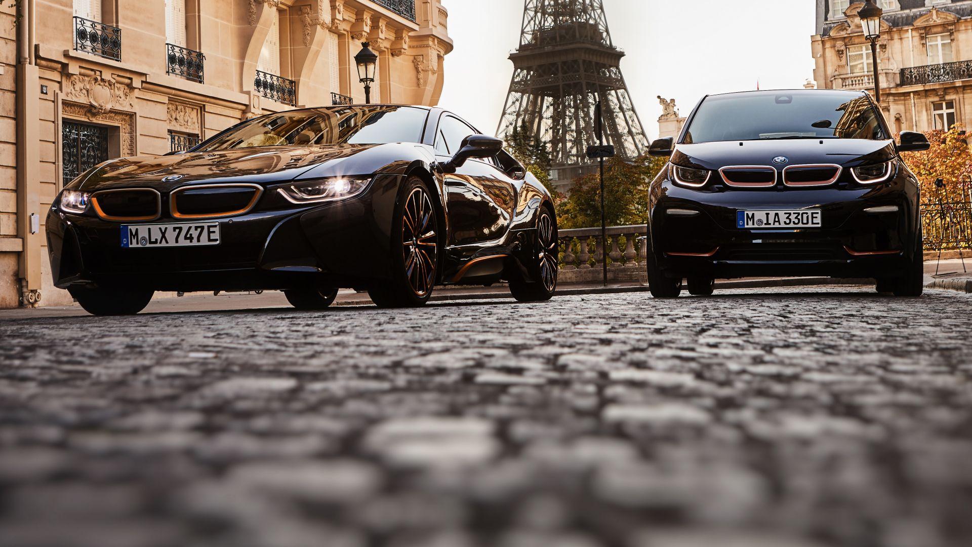 BMW i3S e i8 Sophisto: elettrica e ibrida in serie limitata