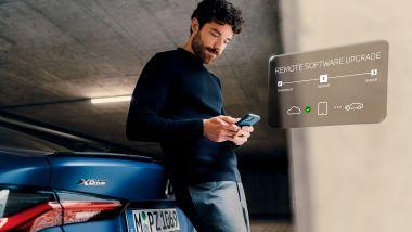 BMW iDrive 7, versione 21-7: per installarla, basta un click