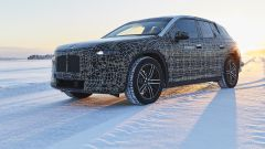 BMW iNext, il prototipo a collaudo in Svezia