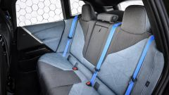 BMW iX 2021: i sedili posteriori