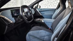 BMW iX 2021: l'abitacolo