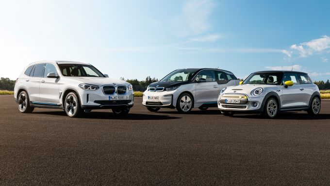 BMW iX3, BMW i3, Mini Cooper SE