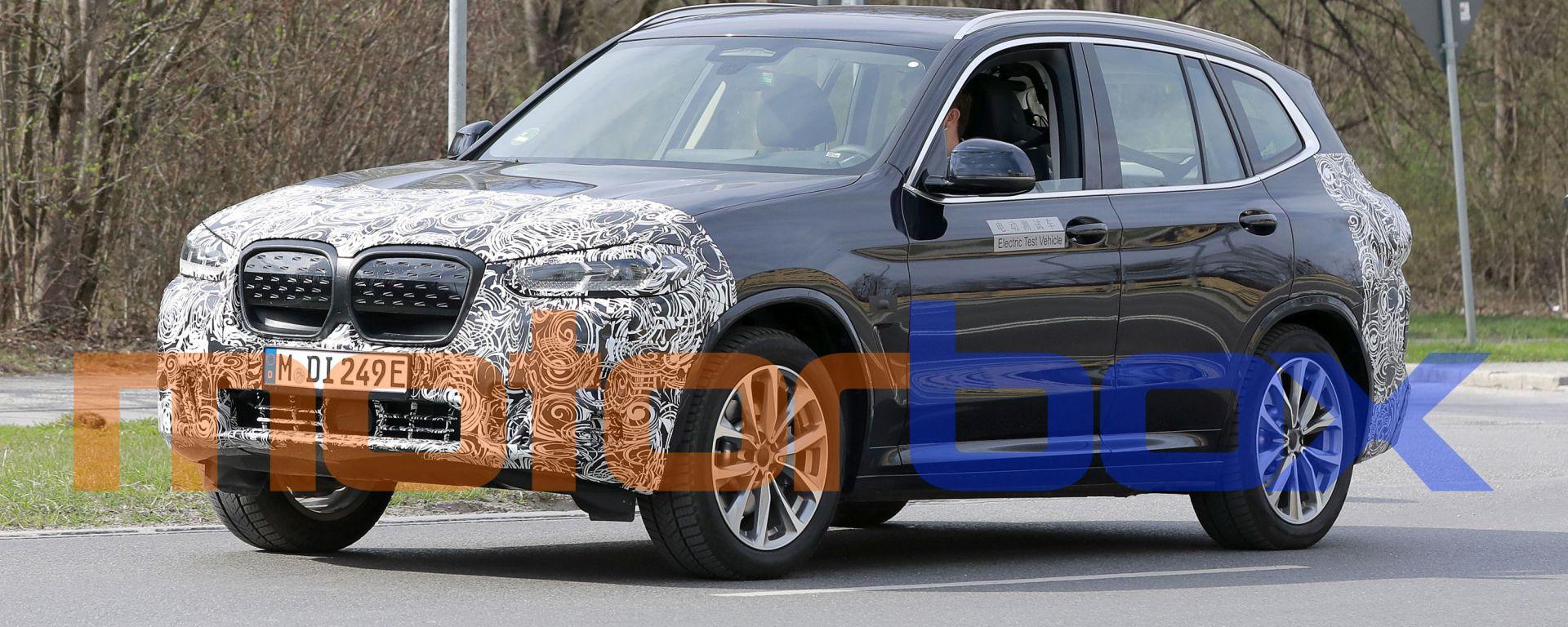 BMW iX3 facelift: il nuovo modello atteso nel 2022?
