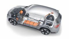 BMW iX3: il motore è dietro