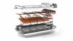 BMW iX3, spaccato della batteria
