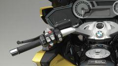BMW K 1600 Grand America: il comandi al semi-manubrio sinistro
