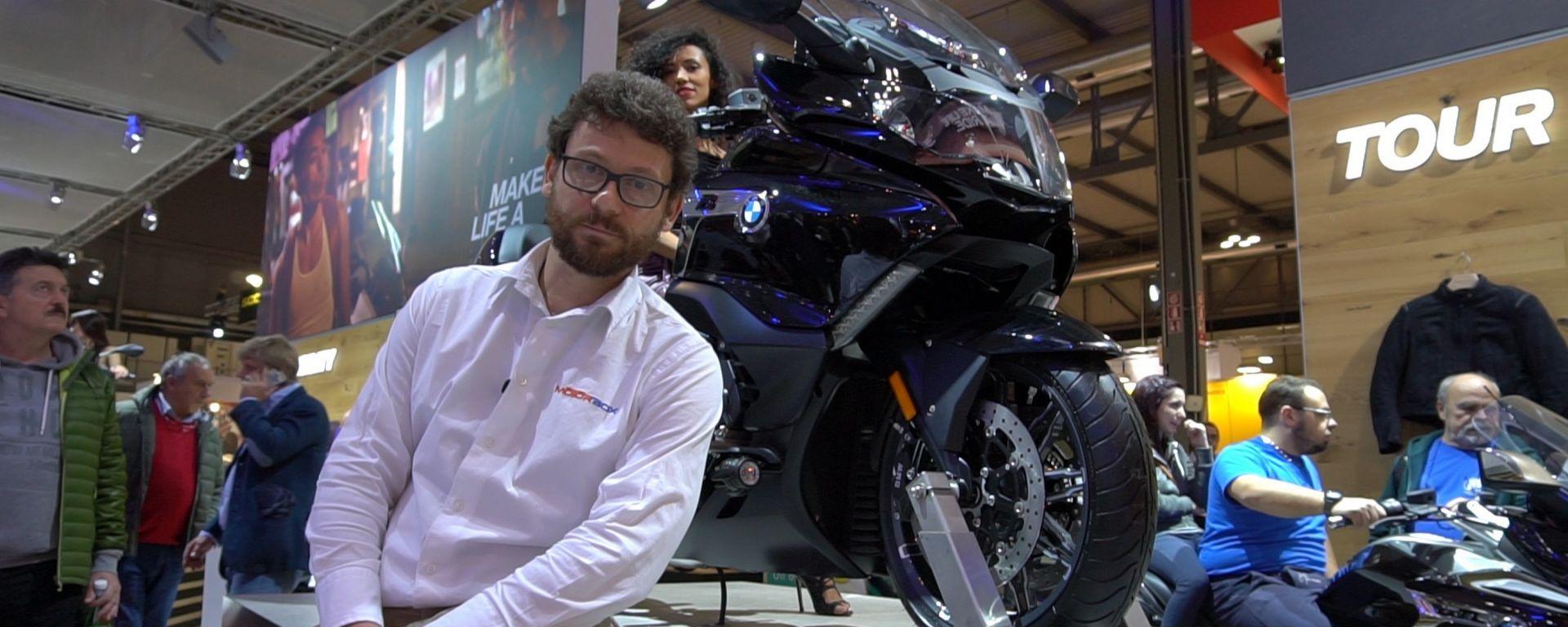 BMW K 1600 Grand America: a EICMA la nuova supertourer [VIDEO]