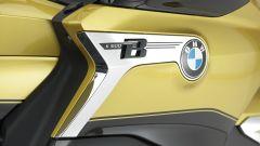 BMW K 1600 Grand America: la targa identificativa del modello