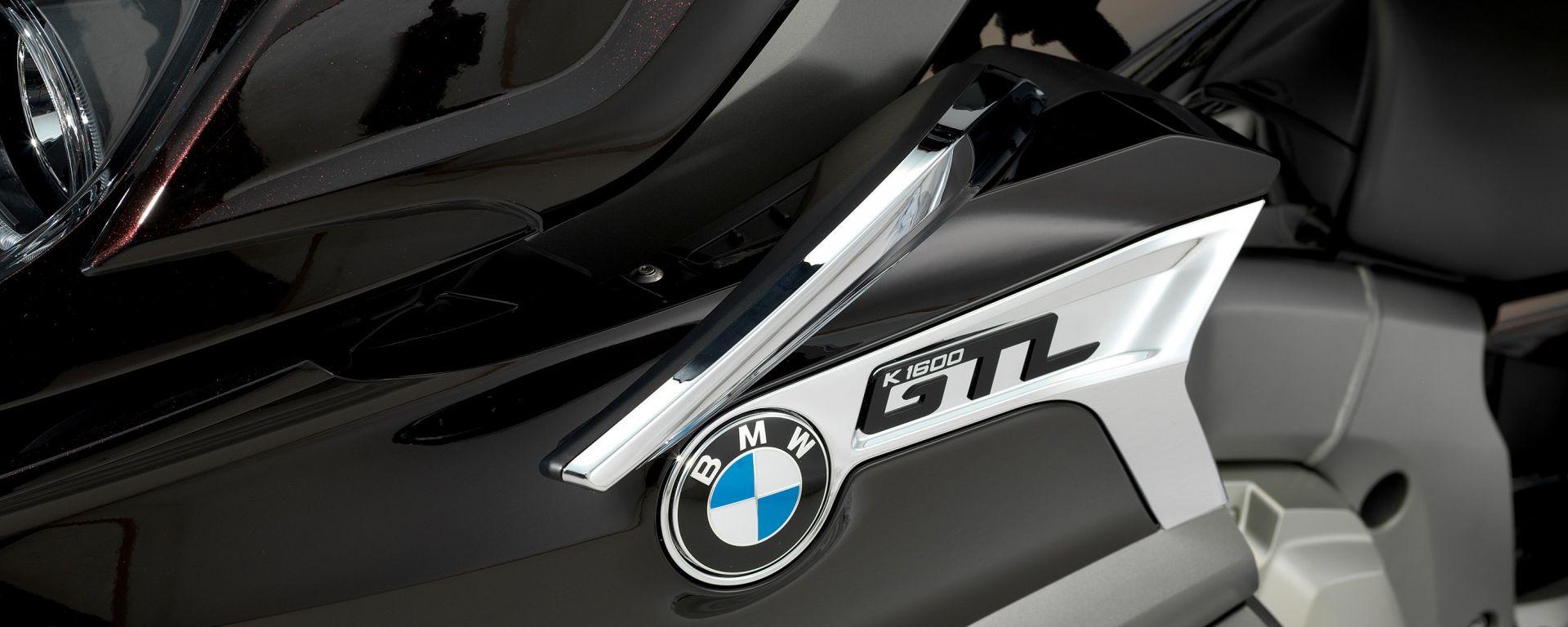 BMW K 1600 GTL 2017, deflettore