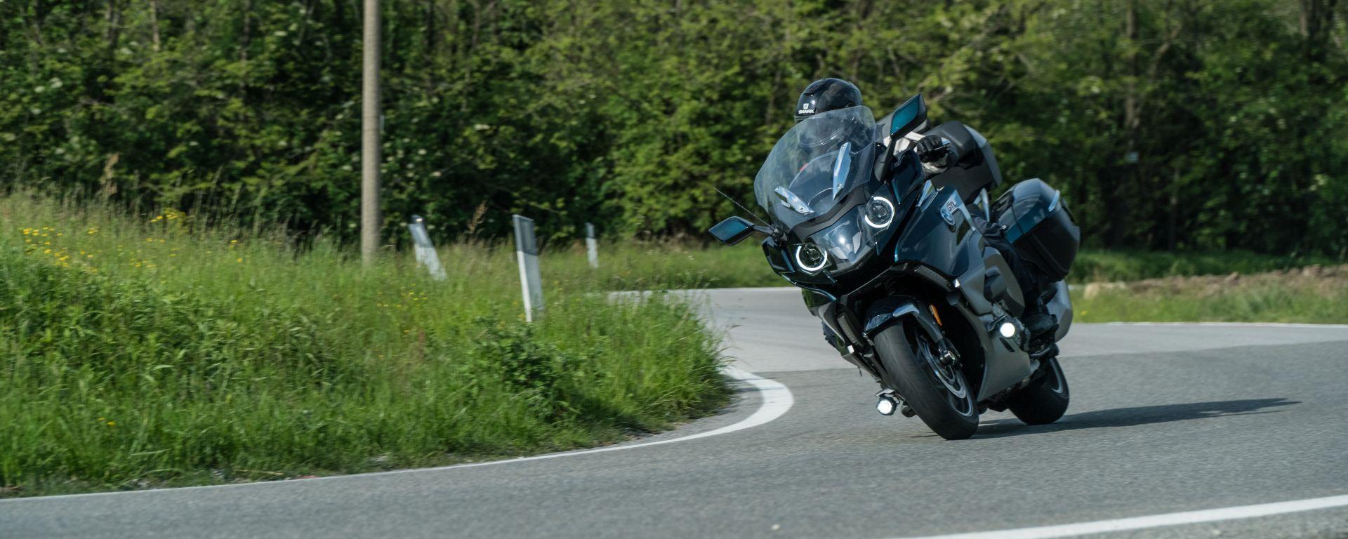 2.000 km in sella alla BMW K 1600 GTL: la prova su strada