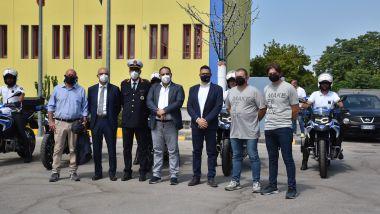 BMW: la cerimonia di consegna delle 11 F 750 GS alla Polizia Locale di Taranto