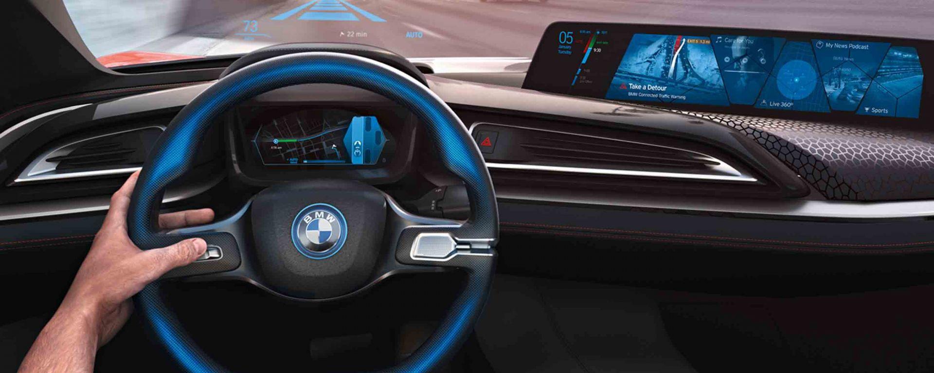 Auto a guida autonoma: BMW pronta per il 2021