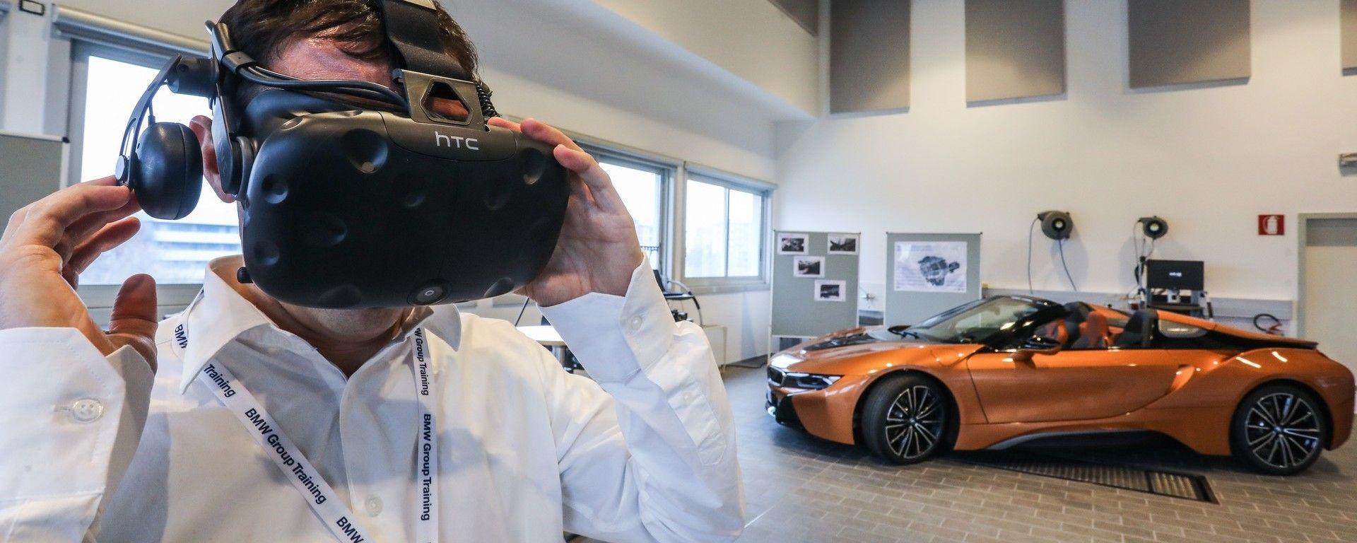 BMW: la Realtà Virtuale permette di osservare il funzionamento dell'auto dal di dentro
