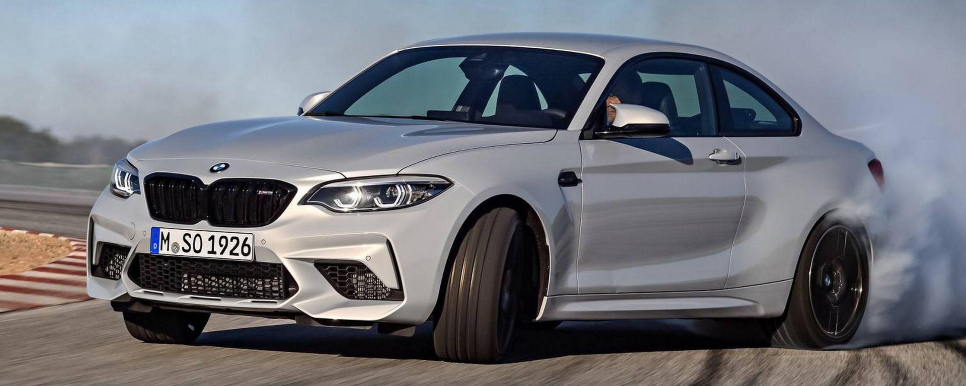 BMW M2 Competition: ora insidia anche le grandi con 410 cv