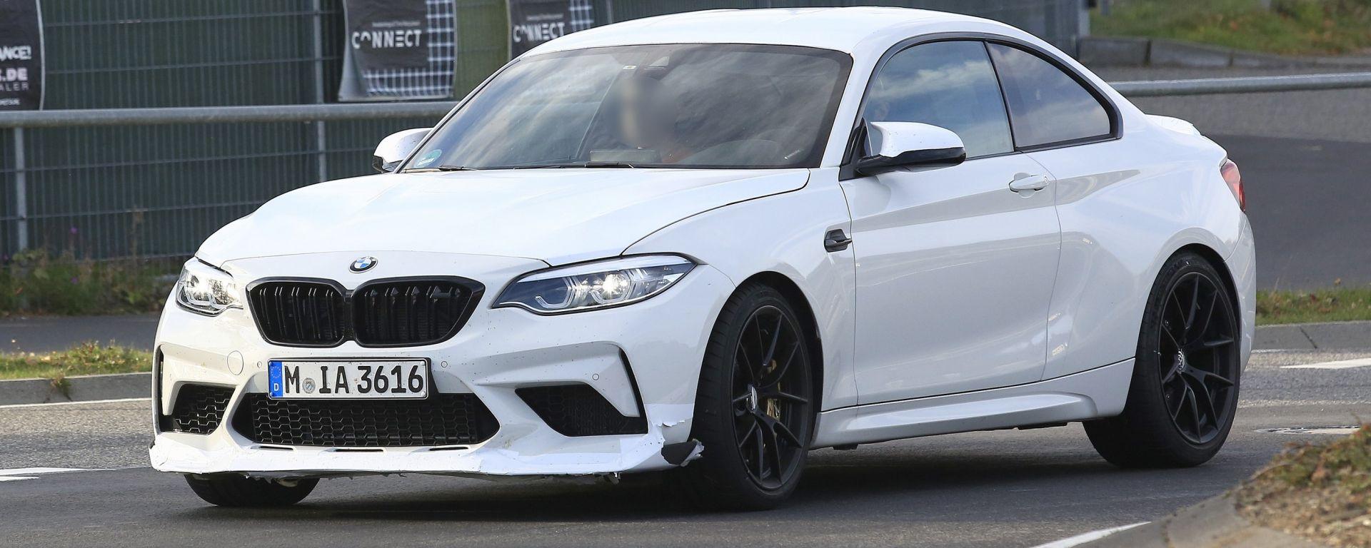 BMW M2, avvistamenti al Ring: sarà la nuova CS o CSL