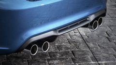BMW M2 Coupé: i 4 scarichi, tipici delle BMW passate attraverso le cure del reparto M