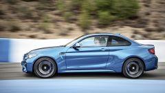 BMW M2 Coupé: trazione posteriore e 0-100 km/h in appena 4,5 secondi