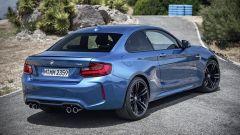 BMW M2 Coupé: vista posteriore