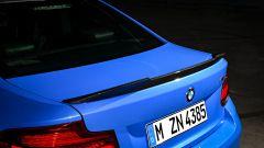 BMW M2 CS 2020: lo spoiler posteriore in fibra di carbonio