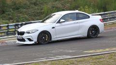 BMW M2 CS: vista laterale del muletto al Nurburgring