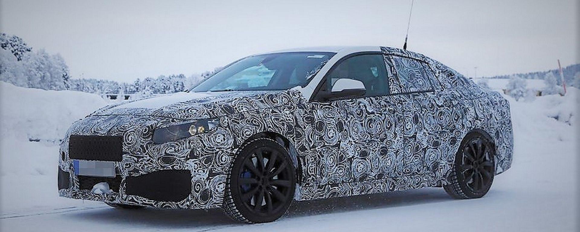 BMW M2 Gran Coupé: le foto spia della nuova versione attesa nel 2019