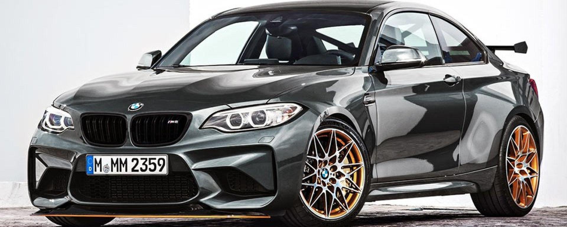 BMW M2 GTS: arriva nel 2019 con 450 CV, dopo la BMW M2 CS