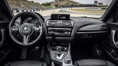 BMW M2: il sistema di infotainment presenta numerose funzioni specifiche dedicate alla pista