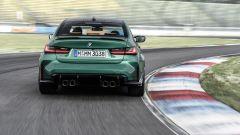 BMW M3 2021: il muscoloso posteriore