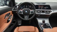 BMW M3 2021: la plancia