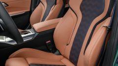 BMW M3 2021: l'abitacolo anteriore