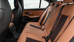 BMW M3 2021: l'abitacolo posteriore