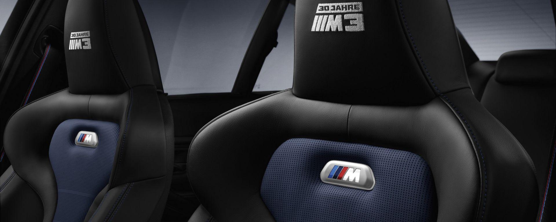 BMW M3 30 Jahre M3: 500 pezzi per celebrare il compleanno