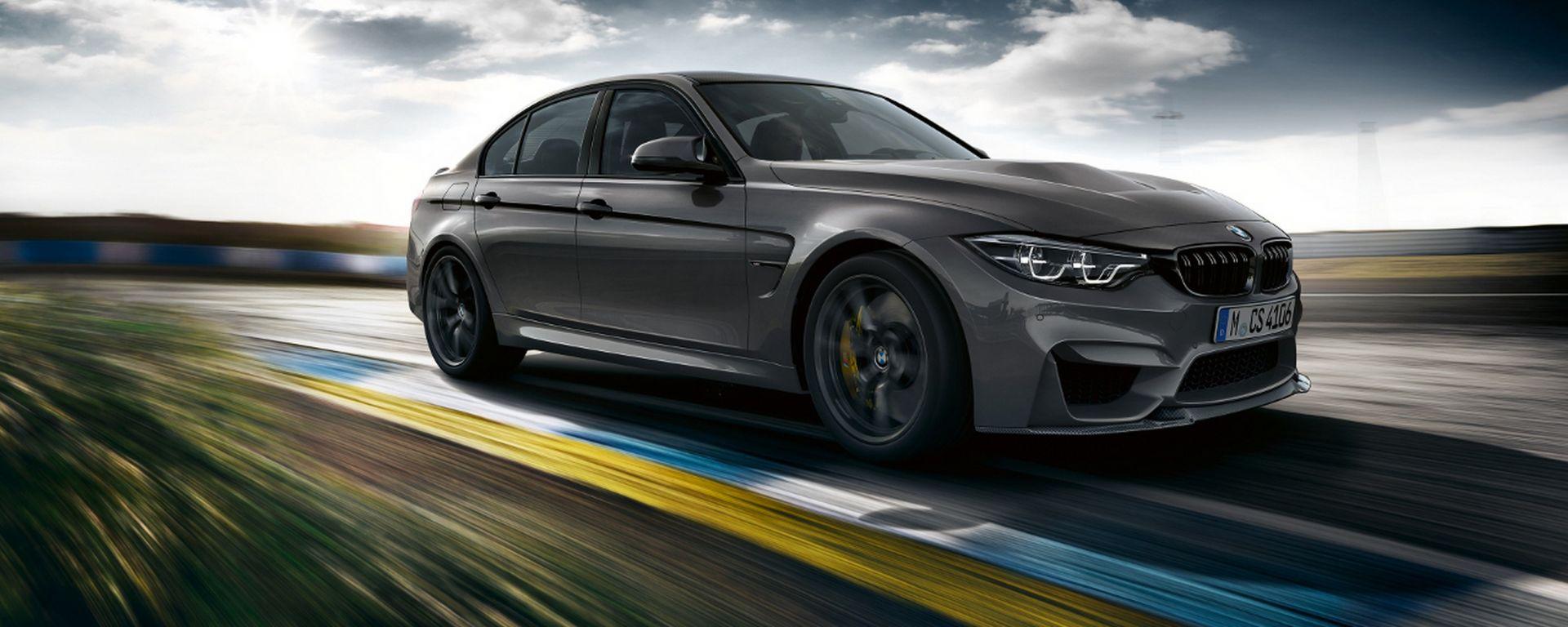 BMW M3 CS: la più potente di sempre