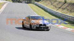 BMW M3 e M4: la discussa grande mascherina verticale fa bella mostra di sé