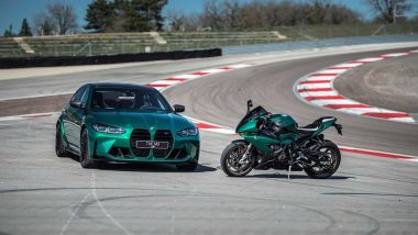 BMW: M3 e S 1000 RR Isle of Man Edition insieme