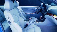 BMW M3 E46: i sedili confortevoli e dal profilo sportivo per sostenere bene il corpo